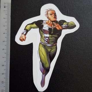C5 Marvel Quicksilver Super Speed Sticker Stickers