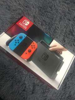 Nintendo Switch black 100% original