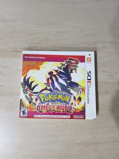 3DS Pokemon Omega Ruby