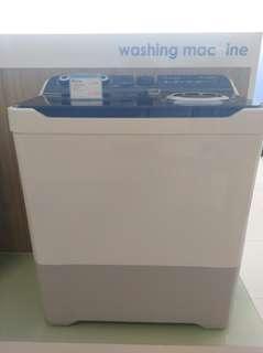 Mesin cuci Sharp 2 tabung bs di kredit