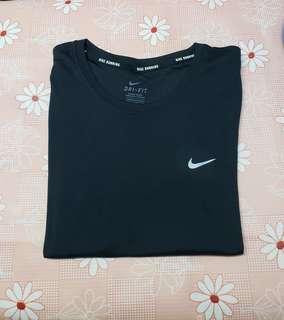 "(Size:M/長25""/胸闊18""/膊頭14.5"")正版Nike女裝運動透氣T-Shirt(專門店購買/只穿過一次99%新)Made in Thailand~1"