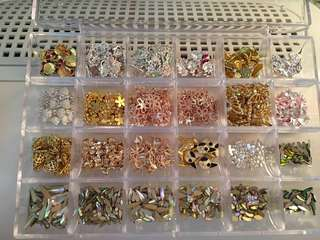 Alloy Nail Charms 7 for 10