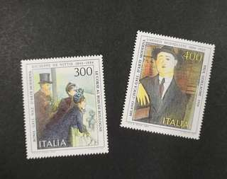 Italy 1984. Italian Arts complete set of 2 stamps