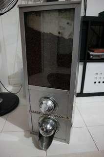 Vintage Real Metal Coffee bean Dispenser