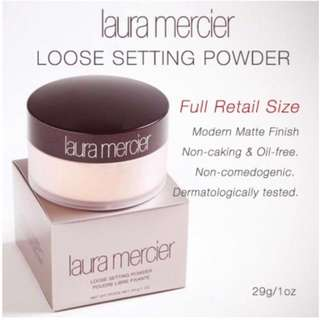 More than 100 sold!! Laura Mercier Loose Setting Powder Translucent 29g Instocks!