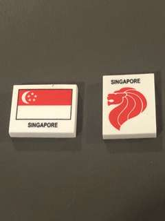 Complimentary Singapore Eraser
