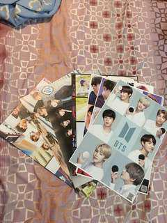 BTS Unofficial Mini Posters