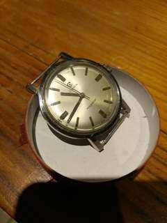 古舊司馬上链錶。