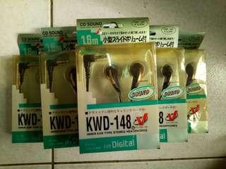 🚚 KWD-148 耳機