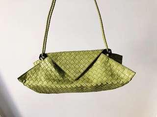 減價 搬屋套現 Bottega Veneta BV 復古 古著 日式設計 可當Clutch shoulder bag
