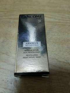 Lancome absolute mask