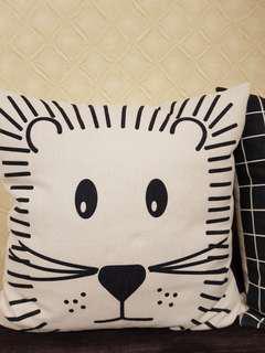20寸麻布枕 布袋可拆卸