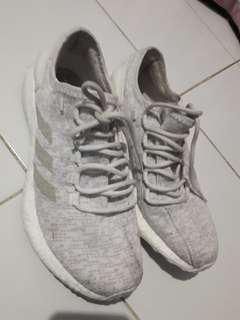 Adidas Pure Boost Tripple White 100% Original Size 42