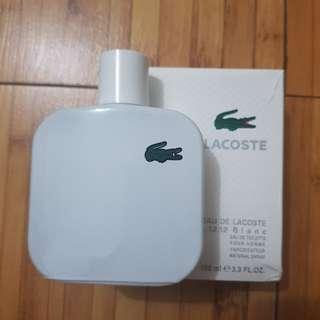 Orig new sgp parfum lacoste blanc