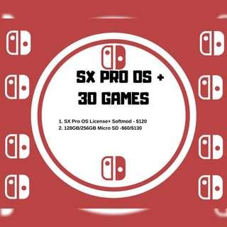 Nintendo Switch SX Pro OS