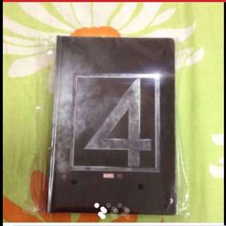 $25 MARVEL Fantastic 4 The Movie Notebook from Hollywood (Brand New & Sealed ) - Last Set