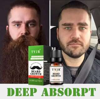 Beard Oil for growth (TYJR)