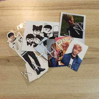 Official BTS Photocards/Standee/Postcard