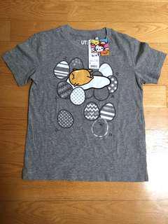Uniqlo Gudetama Sanrio Collection Tshirt
