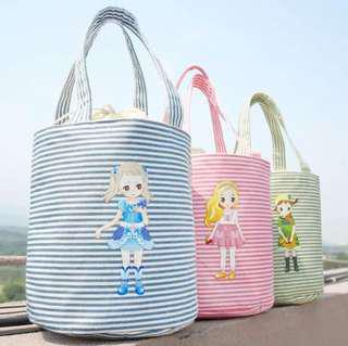 Iconic Insulated Lunch Cooler Bag Gadis Kecil