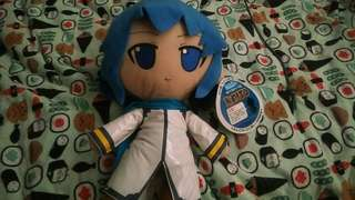 Kaito plush from vocaloid