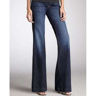 """7 For All Mankind """"THE TROUSER"""" Dojo Jeans Size 28"""