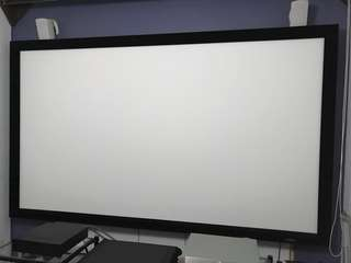 Cyrus Projector Screen (16:9) Crystal white
