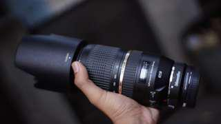 Lensa tamron 70-300 vc usd for canon