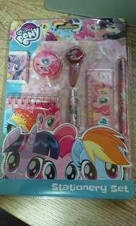 My Little Pony Stationery set