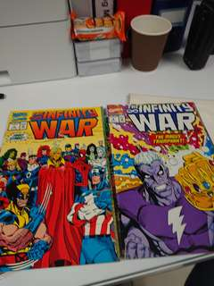 Infinity War #1 & 6 Marvel Comics 1992