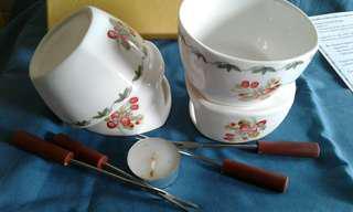Premium Romance Fondue Pot