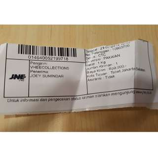 Thankyou Mrs.Joey for your order..