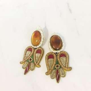 香港市集購買手工 hand made耳環