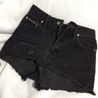 Vintage Calvin Klein Highwaisted Shorts