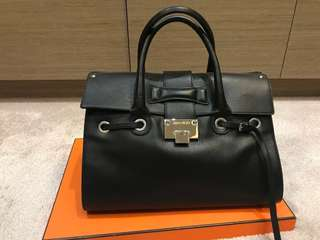 Jimmy Choo Rosalie Black Leather Handbag