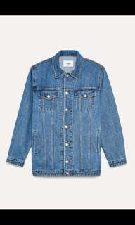 Aritzia Kinglake denim jacket SMALL