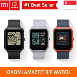 💖LOCAL SELLER💖[Amazfit BIP/PACE International] GPS Running Smartwatch 11 Days Battery Life - Young💖LOCAL SELLER💖[Amazfit BIP/PACE International] GPS Running Smartwatch 11 Days Battery Life - Young