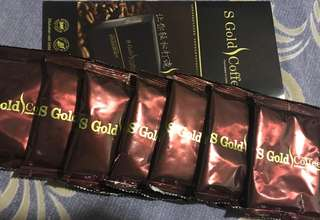 🚚 S-GOLD COFFEE TRIAL SACHETS