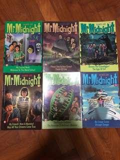 Mr Midnight / Mr Mystery Books