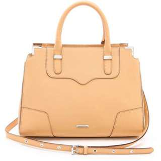 Authentic Rebecca Minkoff Natural Amorous Satchel