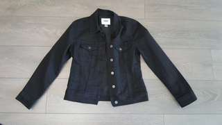 Old Navy black denim jacket