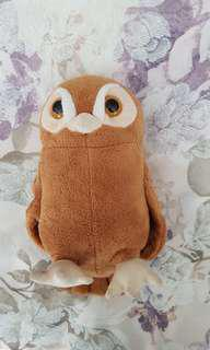 Owl plush from Legends of the guardians movie