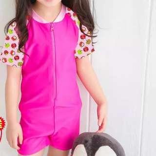 #july18sales 🆕女童連體泳衣