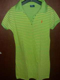 Yellow Green Polo.Dress