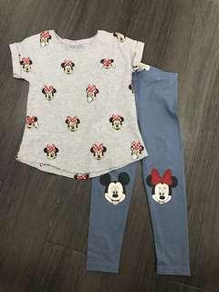 Cotton On Kids Mickey Mouse Set