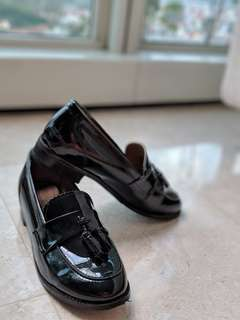 BN Black loafers from Korea