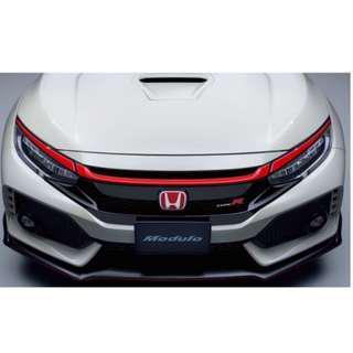 ★ Honda Civic Type R Hatchback FK8 Front Grille Red Garnish Strip ★