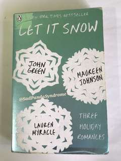 Let It Snow (Three Holiday Romances)