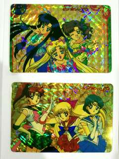 Sailormoon vintage cards #July100