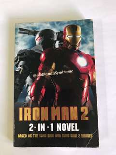 Iron Man (2-In-1 Novel) By